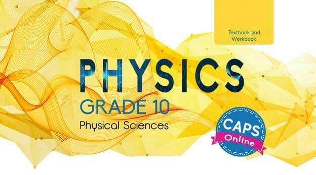 Grade 10 Physics Textbook Cover