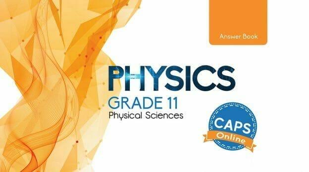 Grade 11 Physics Answer Book Cover